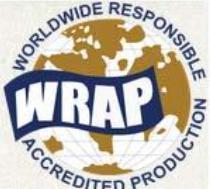 WRAP环球服装生产社会责任原则